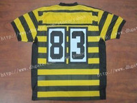 Wholesale 2013 new black yellow th elite American Football Jerseys Sportswear Rugby Jersey cookey4