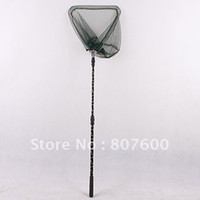 Wholesale Stainless Steel Retractable Handle Fishing Landing Net CM Dia CM