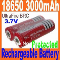 Wholesale Mail Free Ultrafire protection Battery V mAh li ion rechargeable Battery