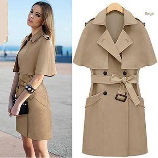 2015 New Fashion Women Winter Wool Blends Long Coat Black Grey Double Breasted Winter Warmly Slim