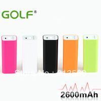 Wholesale Golf mAh portable power charging for phone amp ipad power bank External Battery Pack GF