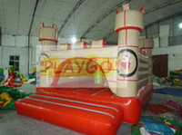 Wholesale 20 Sqm Inflatable bouncy castle inflatable jumping castle with Free CE air pump