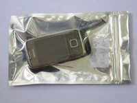 aluminum foil products - cm zip lock Aluminum bag pack for electronic products zip top Moisture Proof bag