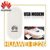Wholesale Huawei E226 G WIFI USB Modem HSDPA ESDPA EDGE Mbps Freeshipping