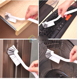 Wholesale Multifunction Kitchen Cleaning Brush Curved Handle Toilet Brush Pool Wall Fan Keyboard Desktop Brush