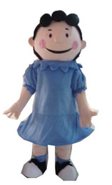 adult size Lucy mascot costume for birthday party cartoon character mascot costumes for sale character mascots design at arismascots