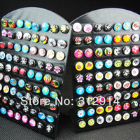 Wholesale 72 Jewelry Mix Pictures Fashion Earrings NEW Best Gifts Stud