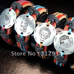 Wholesale mixed fashional leather bracelet tribe bracelets jewelry