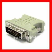 Wholesale DVI I Pin Male To Pin VGA Female Converter adapter DVI to VGA adapter
