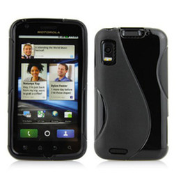 Wholesale TO World ME860 S Line Case Atrix G TPU Cover MB860 Protect Shell Cell Phone Case Colo