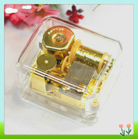 Wholesale Clockwork movement music box music box