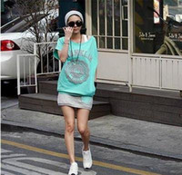 Wholesale 2012 hot fashion women sports wear Green white top skirt jogging M146