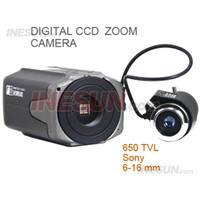 Wholesale 1 inch SONY CCD TVL S WDR D DNR OSD Star Light Box Camera with mm lens Support D DNR X Digital Zoom