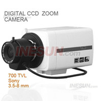 Wholesale CCTV SONY CCD TVL S WDR D DNR OSD Star Light X Zoom Camera with mm lens X Digital Zoom