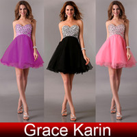 Grace Karin 2013 New Stunning Crystal Sweetheart Ball Gown P...