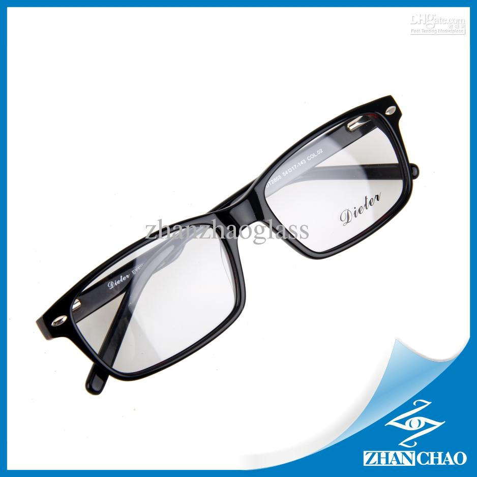 New Design Eyeglasses Big Full Rim Acetate Glasses Frame ...
