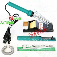 Wholesale 35W Set Electric Soldering Iron Welding Gun Flat Head