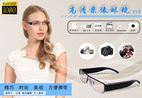 Wholesale The best glass camera Mini dvr HD p Digital glasses camera Video Recorder x1080 MP glass dv
