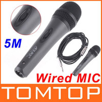 Wholesale Microphone MIC Handheld Wired MIC Dynamic Microphone with M Cable PG142