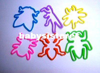 Fujian China (Mainland) 2013 silicone FREE SHIPPING glow in the dark insect shape band silicone band fashion style