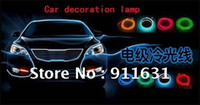 Wholesale Led Car Atmosphere Lamp d el Cold Light cold light EL car Sticker EL Sheet Meter