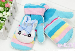 Wholesale search products winter gloves Children s Gloves Baby Gloves Girl Glove New snow ni rabbit