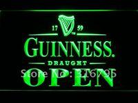 Wholesale 088 g Guinness Draught Beer OPEN Bar Neon Light Sign