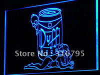Wholesale a139 b Duff Simpsons Beer Bar Display Neon Light Sign