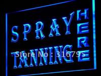 Wholesale j116 b Spray Tanning Shop Lure Display Neon Light Sign