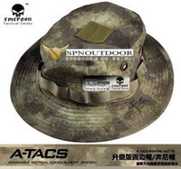 Wholesale Emerson Boonie Hat V2 A TACS Advanced Tactical Concealment System Army Hat Anti scrape Grid Fabric