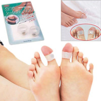 Wholesale Chic Pair of Magnetic Losing Weight Toe Rings Pair of Body Slimming Silicone Magnetic