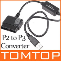 Wholesale USB for PS2 to for PS3 Controller Converter Game GAME075