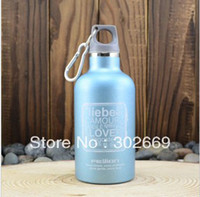 Wholesale children s sports bottle vacuum keep warm stainless steel ML outdoor portable water bottle