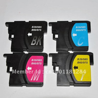 brother printer - LC60 LC39 LC975 ink cartridge for Brother DCP J125 J315W J515W MFC J265W J410 J415W J220 printer ink