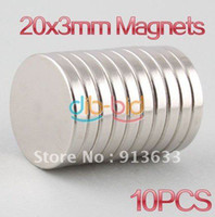 Wholesale 2013 new mm x mm Disc Rare Earth Neodymium Super Strong Magnets N35 Craft Model