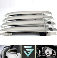 Wholesale 2013 new ABS Chrome Door Handle Covers For Toyota Corolla Camry Yaris Highlander RAV4