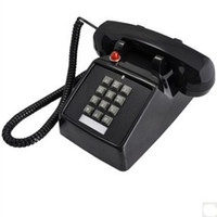 Plastic push button phone - 1970 Vintage Push Button Telephone Retro Antique Desk Phone Home Decor
