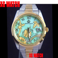 Wholesale 2012 New Model Luxury Watches Men Date Leisure Watches Japan Movt Stainles Steel WristWatches Fahion
