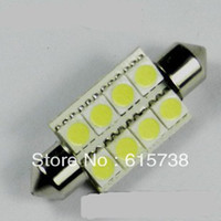 Wholesale 10 pieces Festoon smd chip led roof lamp license plate lamp rear lights reading lamp door la