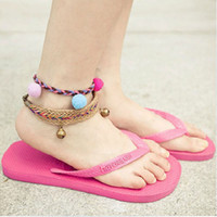 Wholesale Fashion Barefoot Sandals For Women Personality Pink Ball Barefoot Sandals Body Jewelry