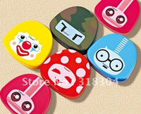 Wholesale Cute Expression Contact Lens Cases as Contact Lens Mate Box for your lens