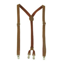 Wholesale PU male women s general suspenders women s suspenders g