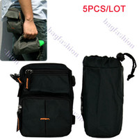 Wholesale 5PCS Men s Nylon Waist Bag Leisure packs for Sports Hiking bags
