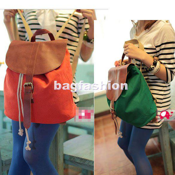 Holiday Sale Canvas Backpack Korea Vintage School Shoulder Bags ...