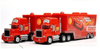 Truck hot vedio - 2013 Hot New Pixar Cars Cars2 MACK TRUCK Toy Red MACK HAULER McQueen cars Moive Figure Dolls