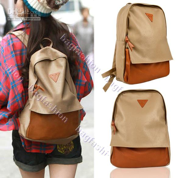 Fashion Korean Bag For School Bags Womens Backpack Handbag Student ...