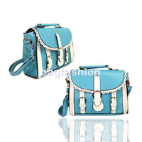 Wholesale Lady s Style Korea Women s cute bags for girls Lacework Lovely PU Leather Handbag Tote Bag Shoulder