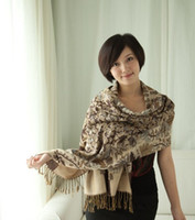 Wholesale Female indigenous single autumn and winter thicken scarf shawl dual use new winter models warm sca