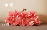 Wholesale 2013 petal evening bag three color fashion Party Handbags