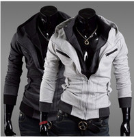 Wholesale NEW autumn clothing man Korean cardigan hooded Slim fit Hoodie